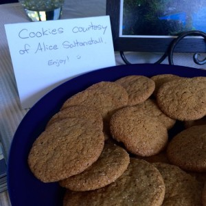 And Alice Saltonstall brought a plate of cookies Shes sohellip