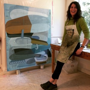 Had such a nice studio visit with Deborah Zlotsky Comehellip