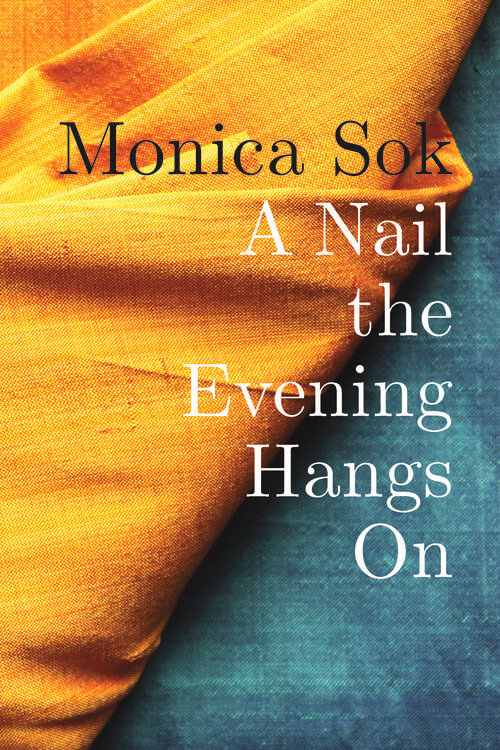 Book cover art for A Nail the Evening Hangs On