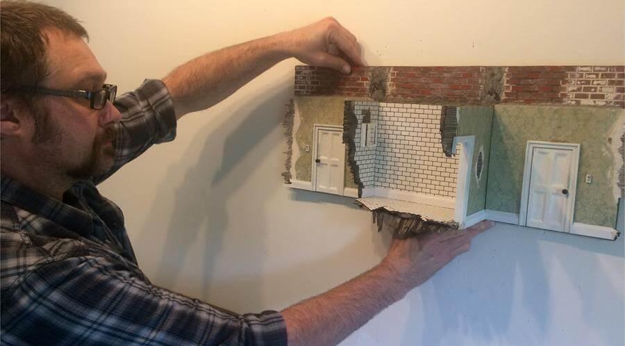 """Gary Sczerbaniewicz ('16) Constructs """"Unknown Knowns"""""""