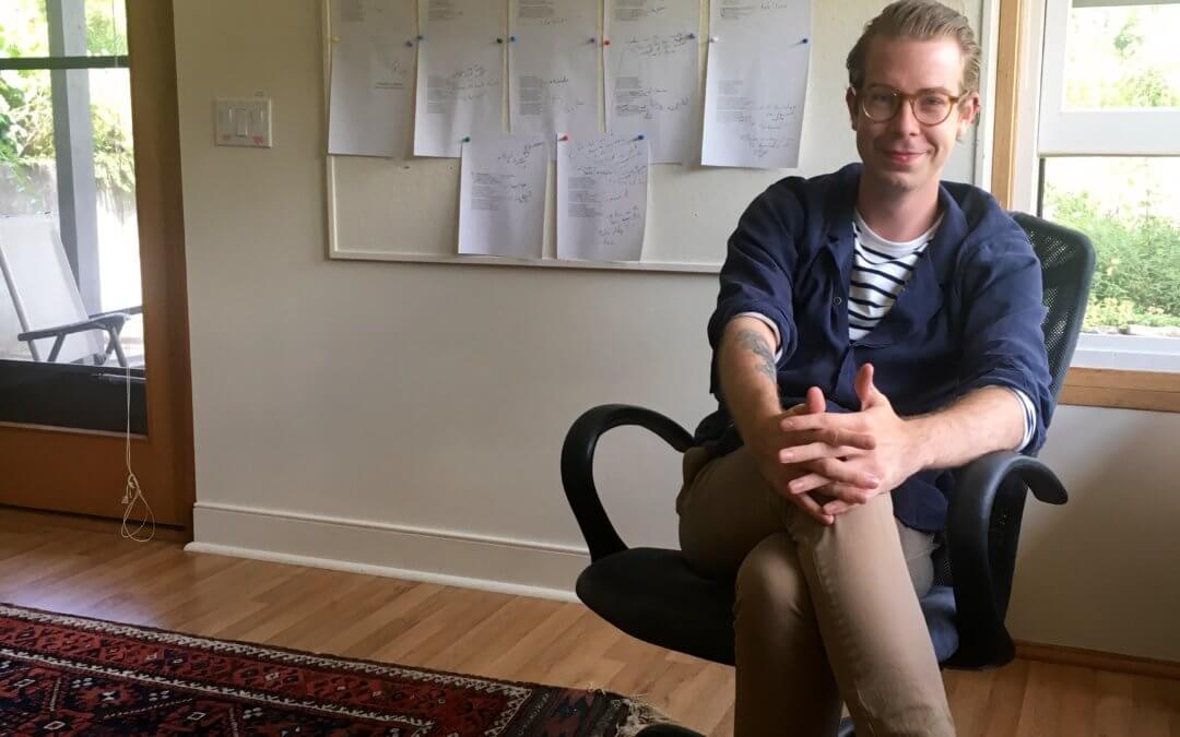 Poet George Kovalenko discusses his residency