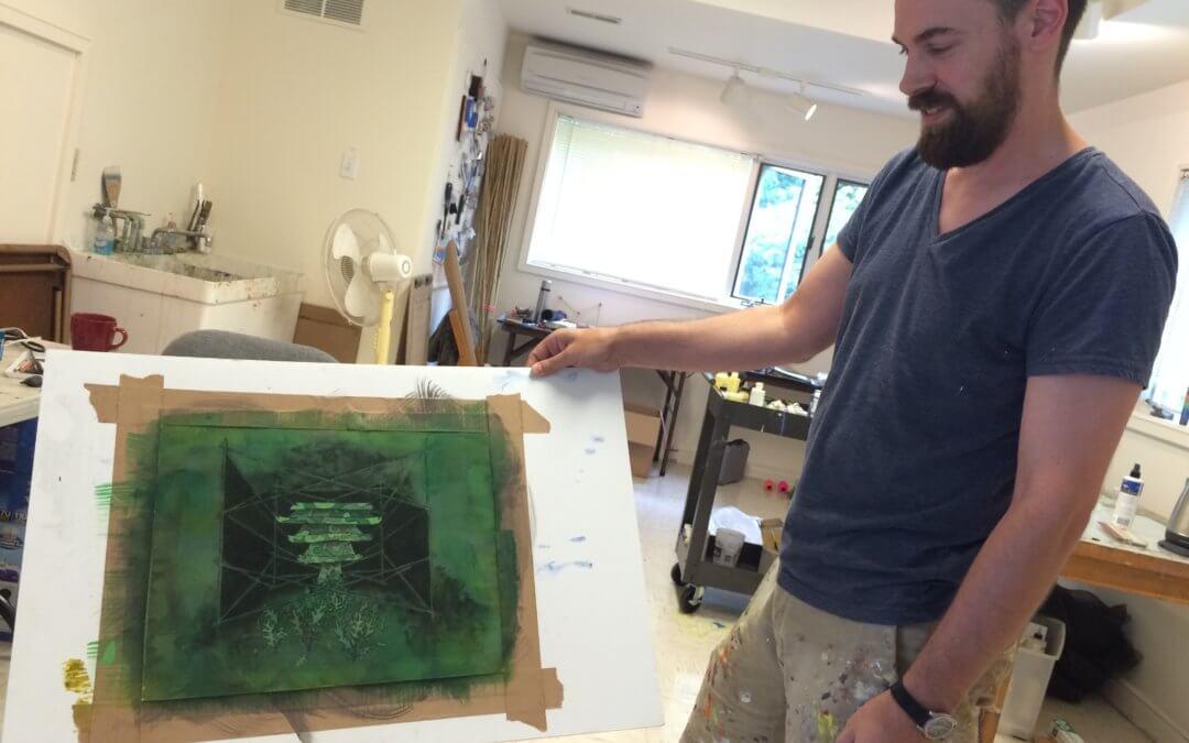 Zac Skinner ('16): Down-to-Earth Art