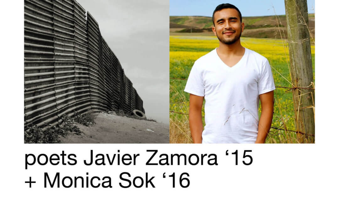 Tonight! Javier Zamora Reads in Ithaca