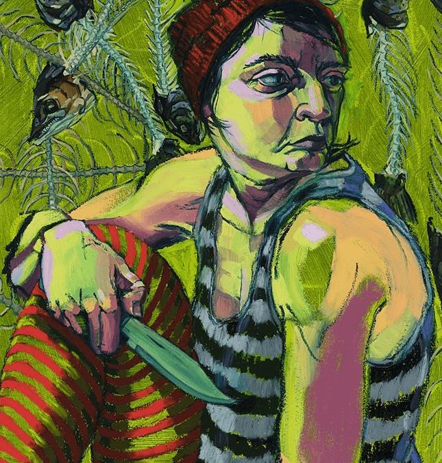 Dara Engler ('18) Opening at Arnot Art Museum