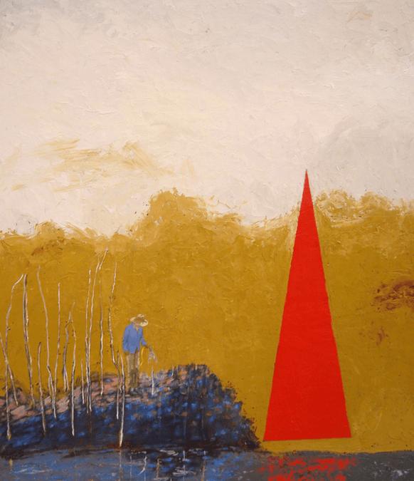 """Lin Price ('00 ) Solo Exhibit """"Broken Ground"""" Opens Oct. 31"""