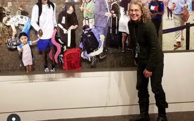 Tasha Depp ('19) and Deborah Zlotsky ('15) group show at the Albany Airport