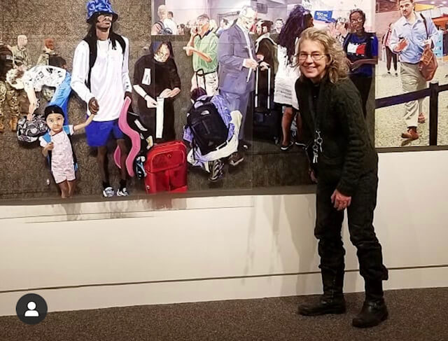 Tasha Depp ('19) and Deborah Zlotsky ('15) group show at the Albany Airport